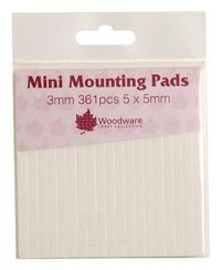 3mm Adhesive Foam Mounting Pads