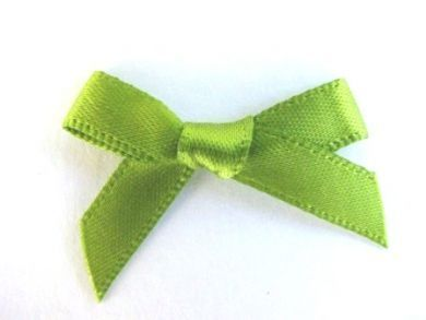 Satin Bows Green