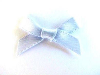 Satin Bows Pastel Blue