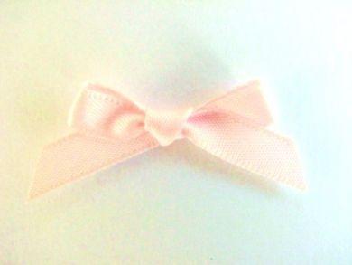 Satin Bows Pastel Pink