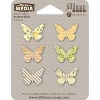 Die Cut Vellum Butterflies