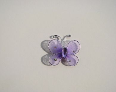 Lilac Mesh Butterfly