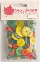 Assorted Primary Colour Buttons