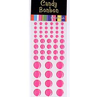 Hot Pink Candy Stickers