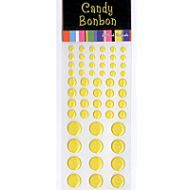 Yellow Candy Stickers
