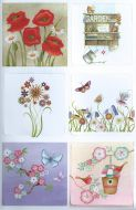 Garden Shelves Die Cut Card Toppers