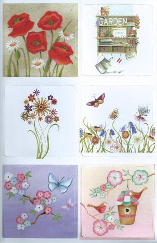 Garden Shelves Die Cut Card Toppers