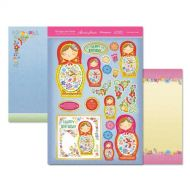 Hunkydory Die Cut Topper Sheet Babushka Dolls