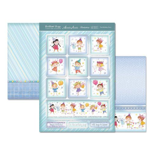 Hunkydory Die Cut Topper Set The Birthday Party