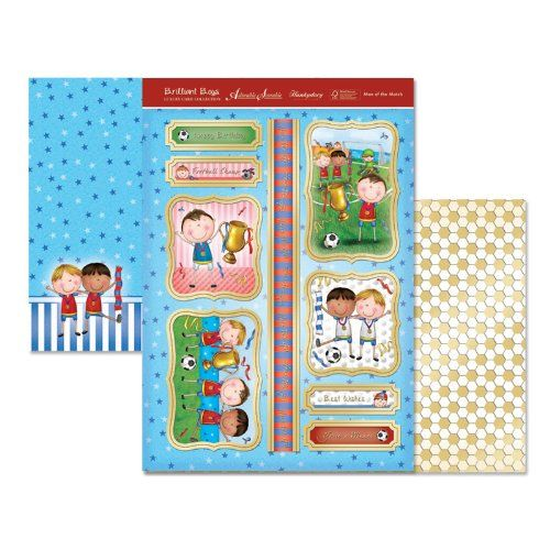 Hunkydory Die Cut Topper Set Man of the Match