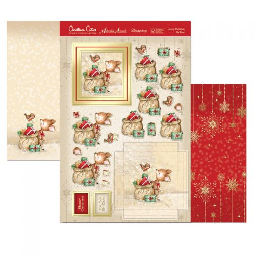 Merry Christmas My Deer Card Topper Set