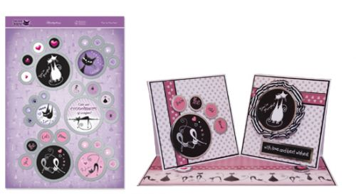 Hunkydory Die Cut Card Toppers The Cats Meow