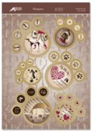Hunkydory Die Cut Card Toppers The Dogs Biscuit