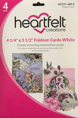 Heartfelt Creations Fold Out Cards (OUT OF STOCK)