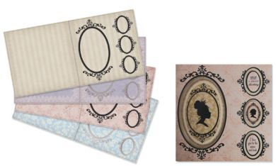 Classic Cameo Card Blanks