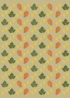 Autumn Leaves Background Paper