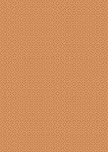 Lines and Circles Orange Background Paper