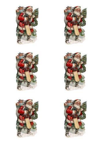 Santa Carrying Sack Images