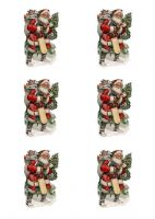 Santa Carrying Sack Images