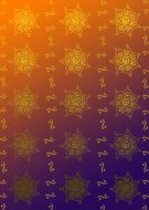 Indian Purple and Orange Background Paper
