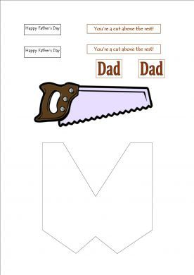 Fathers Day Paper
