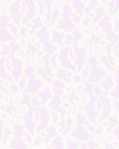 White on Lilac Lace