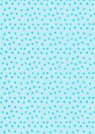 Dark on Light Turquoise Polka Dot