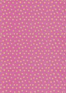 Khaki on Pink Polka Dot Paper