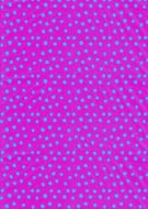 Turquoise on Pink Polka Dot Paper