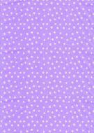 White on Lilac Polka Dot Paper