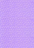 White on Lilac Polka Dot Paper