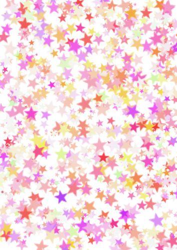 Big Star Scatter Pink