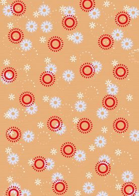 Snowflakes and Patterns Paper