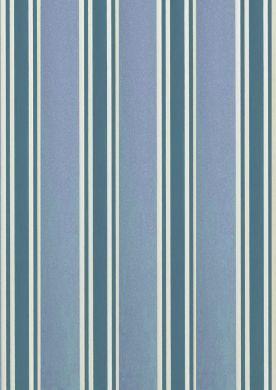 Blue Regency Stripe Paper