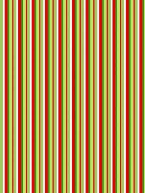 Christmas Stripe Paper