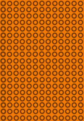 Orange Circles Paper