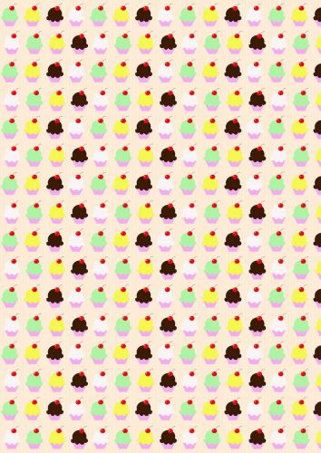Small Cupcake Paper