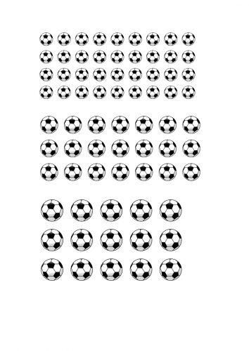 Football Cutout Sheet