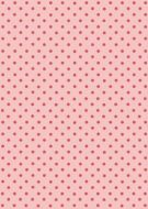 Pink on Pink Polka Dot Paper