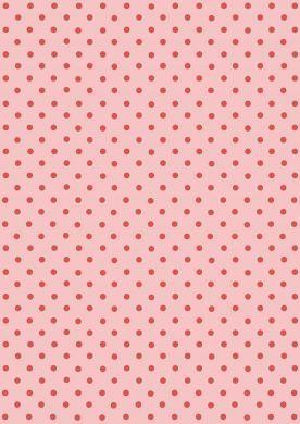 Pink on Pink Polka Dot Paper