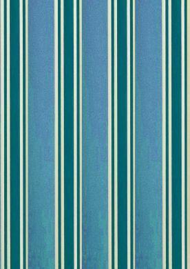 Turquoise Regency Stripe Paper