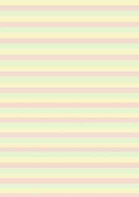 Narrow Pastel Stripe Paper