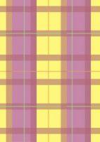 Yellow Tartan Paper