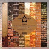 Brick Walls 15cm x 15cm Paper Pad
