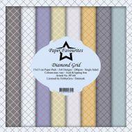 Dixi Craft Diamond Grid 6 x 6 Paper Pad