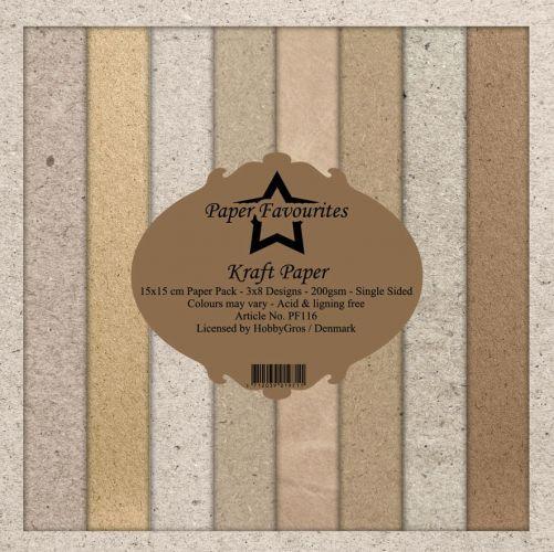 Kraft 6 x 6 Paper Pad