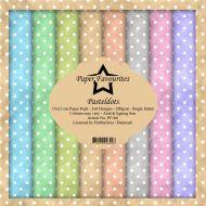 Dixi Craft Pastel Dots 6 x 6 Paper Pad