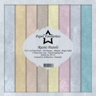 Rustic Pastels 15cm x 15cm Paper Pad