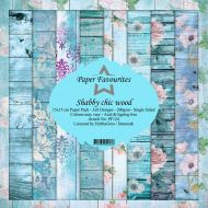 Shabby Chic Wood 15cm x 15cm Paper Pad