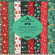 Christmas Decoration 6 x 6 Pad